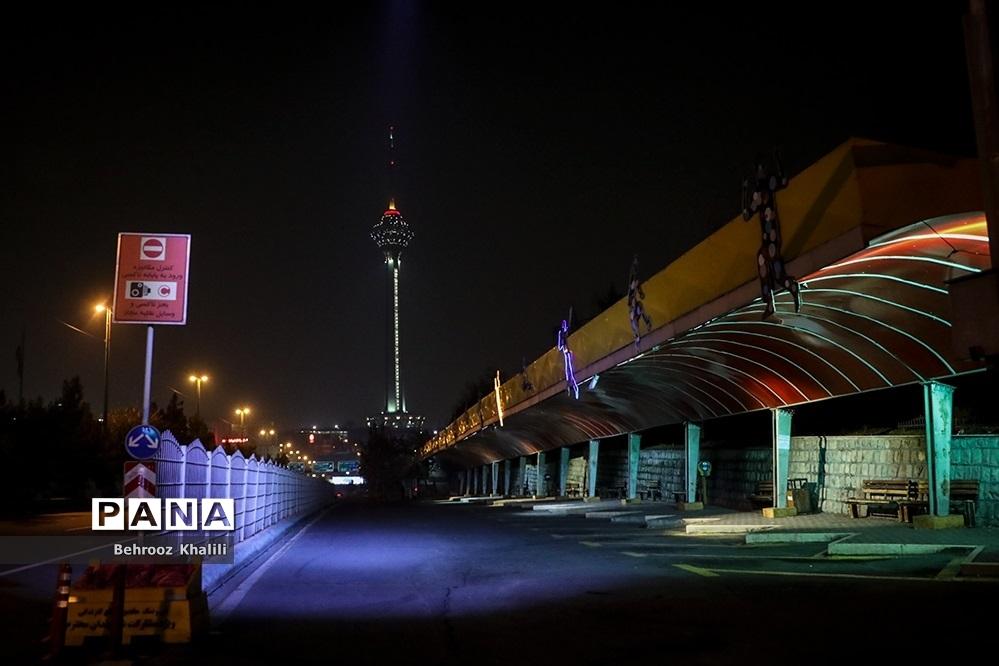 تهران ساعت ۲۱