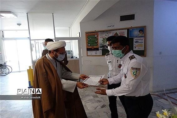 خداقوت به جهادگران عرصه سلامت و درمان شهرستان خوسف