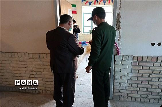 افتتاح کتابخانه شهید علی محمد تاجدینی در بین آباد شهرستان خوسف