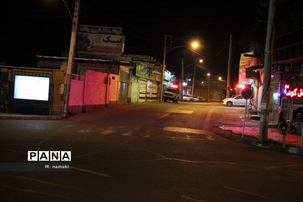 شهرآران و بیدگل در سکوت احترام به قانون