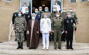 جلسه همافزایی ستادی ارتش در ستاد نیروی دریایی برگزار شد