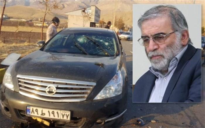 نامه ایران به شورای امنیت درباره ترور شهید فخریزاده