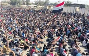 تظاهرات دهها هزار نفری حامیان صدر در عراق