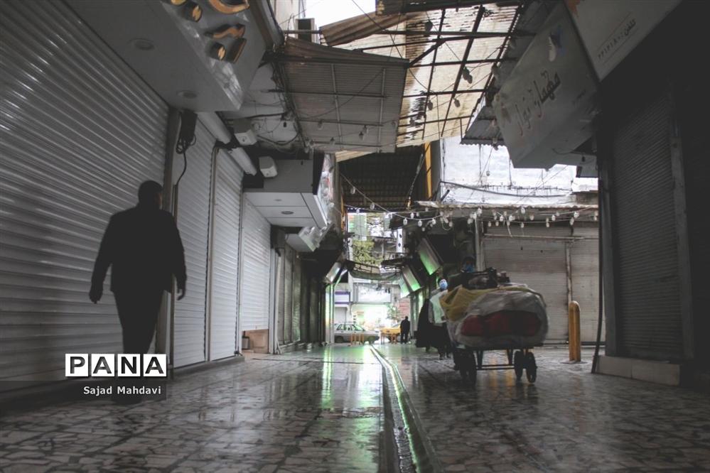 آغاز هفته دوم محدودیتهای جدید کرونایی در مرکز مازندران
