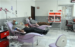 همت پهلوانانه ورزشکاران باستانی خراسان جنوبی در پویش اهداء خون