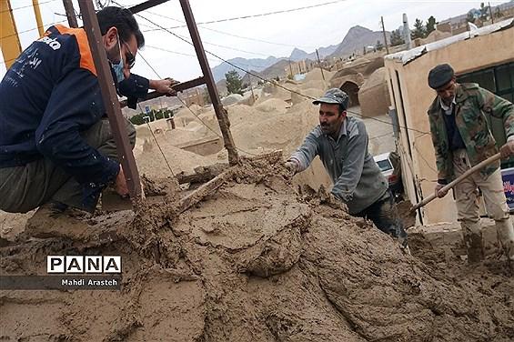 بام اندود کردن مسجد دریک اقدام جهادی