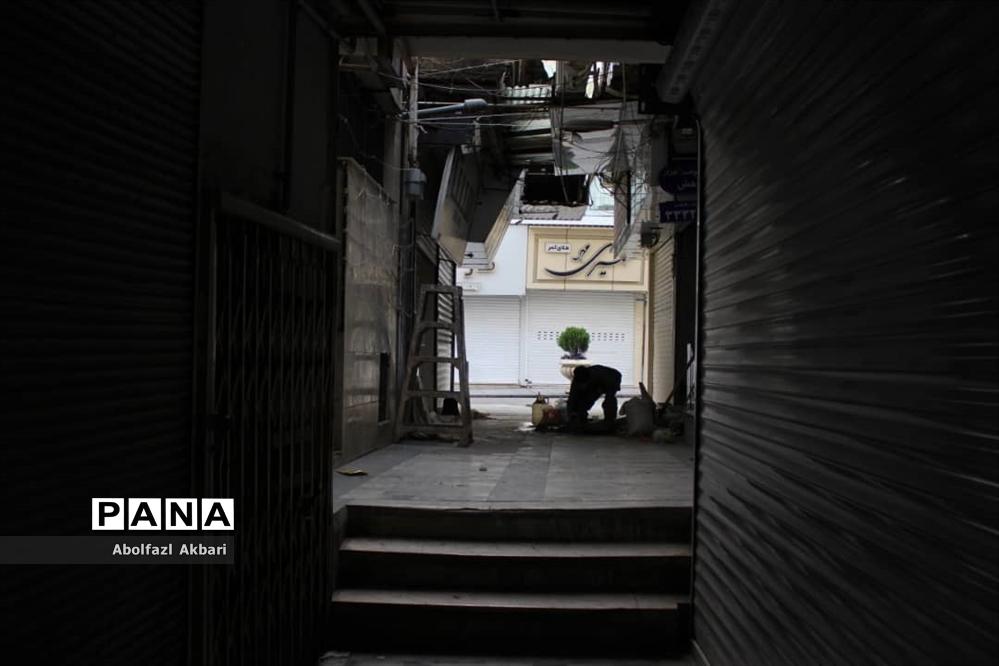 ساری در دهمین روز تعطیلی کرونایی