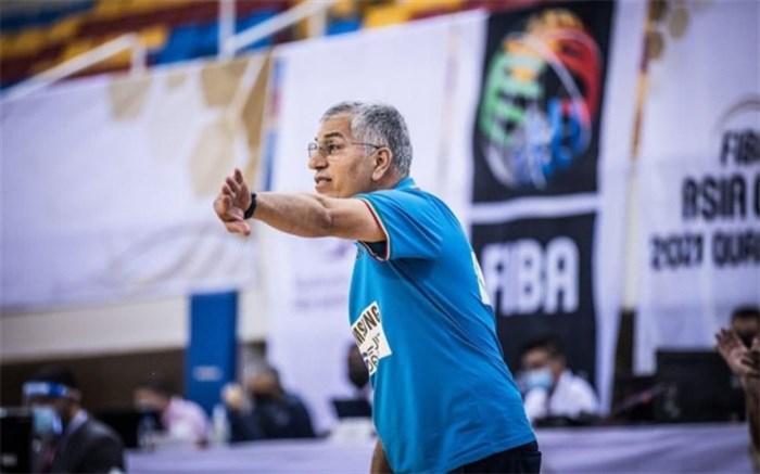 شاهین طبع: بعد از بازی با اسپانیا و ترکیه المپیکیهای بسکتبال معرفی میشوند