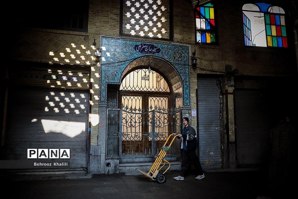 بازار تهران در قرنطینه-۲