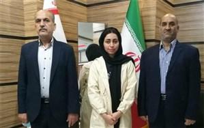 دیدار بانوی المپیکی با مدیرکل ورزش و جوانان استان بوشهر