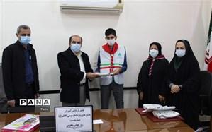 دانشآموزان با نیازهای ویژه محمودآباد تجلیل شدند