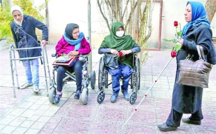 معلولان در انزوای کرونا