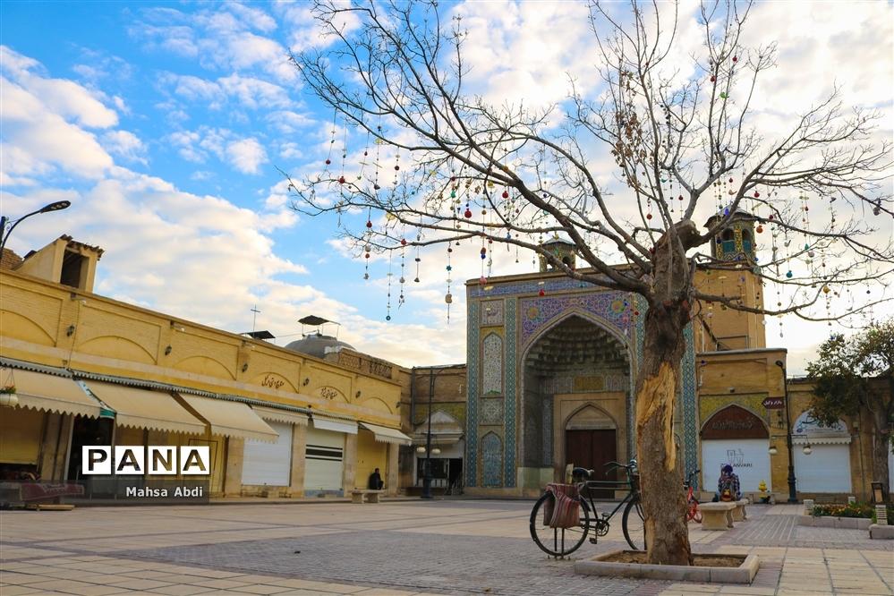 سکوت پاییزی شیراز در جولان کرونا