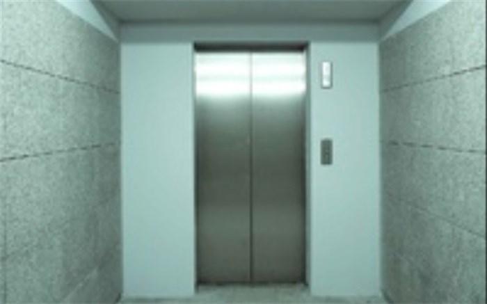 اجاره آسانسور برای دریافت پایان کار!