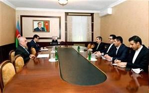 دیدار سفیر ایران در باکو با رئیس مجلس نخجوان