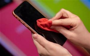 توصیههای کرونایی؛ هرگز در مجاورت سیگار روشن یا شعله گاز  تلفن همراه  را ضدعفونی نکنید