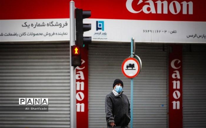 اولین روز محدودیتهای شدید کرونایی در تهران