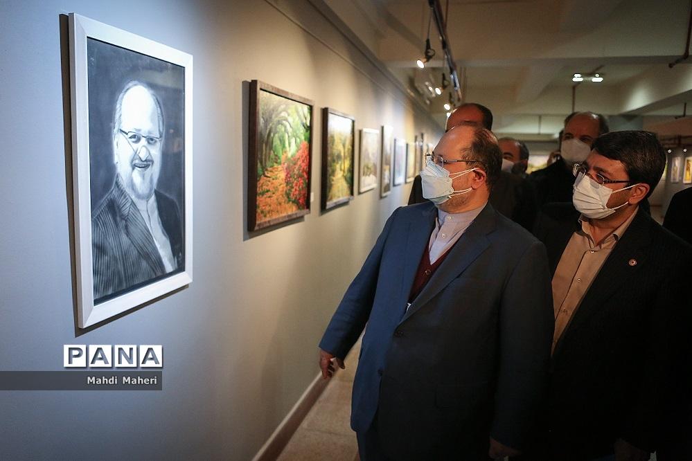 آیین افتتاح نمایشگاه آثار هنری افراد دارای معلولیت
