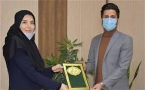 انتخاب دانشجوی نخبه اسلامشهری به عنوان مشاور امور جوانان و نخبگان رئیس شورای شهر