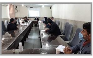 جلسه معاونت پژوهش و برنامه ریزی آموزش و پرورش ورامین