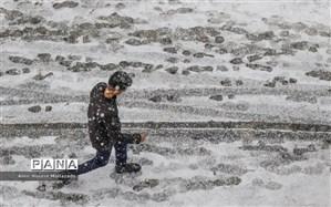 بارش برف و باران در ۱۳ استان کشور