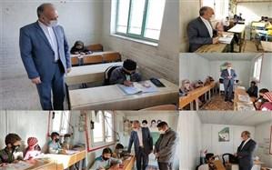 بازدید مدیر کل از 20 مدرسه صفر مرزی نهبندان