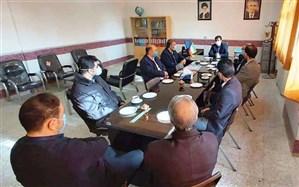 بازدید مدیرکل آموزش و پرورش استان زنجان از مدارس ناحیه یک زنجان