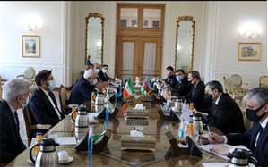 دیدار وزرای خارجه جمهوری اسلامی ایران و آذربایجان