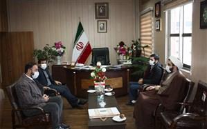 دیدار مسئول اتحادیه انجمن های اسلامی استان با مدیرکل آموزش و پرورش استان زنجان