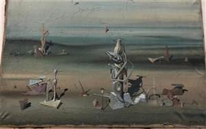 نقاشی ۲۸۰ هزار یورویی در سطل زباله پیدا شد!