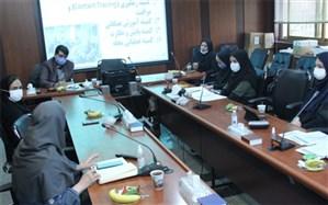برگزاری جلسه کمیته برنامه مدیریت و کنترل اپیدمی کووید -19درشبکه بهداشت و درمان اسلامشهر