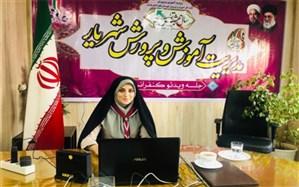 حضور مسئولین سازمان دانشآموزی شهریار در مراسم اختتامیه مجازی جشنواره تابستان شاد