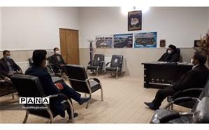 دیدار فعالین حوزه قرآنی آموزش وپرورش با امام جمعه کاشمر