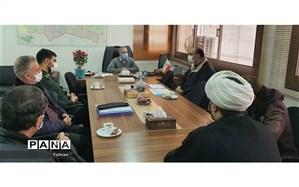 دیدار اعضای بسیج فرهنگیان جماران با مدیر آموزش و پرورش منطقه1