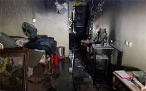آتشسوزی در برجهای مهستان؛ ۳۵ نفر نجات پیدا کردند