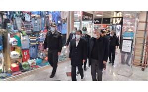 تشدید نظارت بر فعالیت بازار، اصناف و کسبه در شهر اردبیل