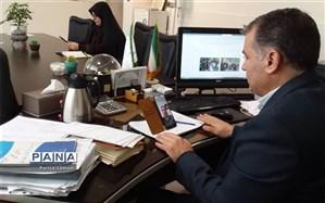 برگزاری مجازی انتخابات هیات رییسه مجلس دانش آموزای منطقه ۱۳