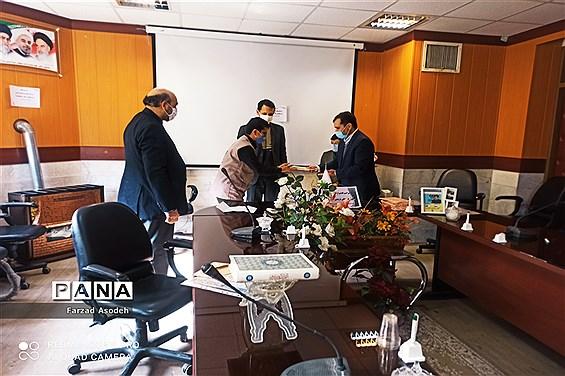 برگزاری جلسه تقدیر از اعضای فعال کانون لقمان کاشمر