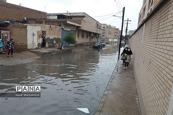آبگرفتگی پر تکرار خیابانهای اهواز