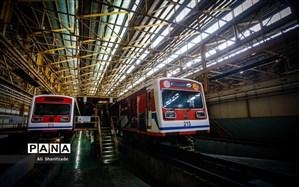 ۳۱ رام قطار مترو تهران نیازمند تعمیرات اساسی است