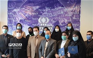 مراسم اعطای اعتبارنامه  به نمایندگان مجلس دانش آموزی استان کرمانشاه برگزار شد