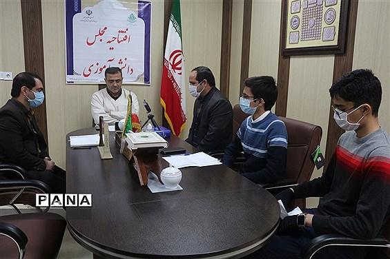 افتتاحیه مجالس دانشآموزی نواحی یک و دو آموزش و پرورش شهر همدان
