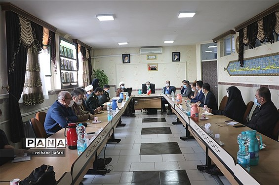 جلسه شورای آموزش و پرورش شهرقدس