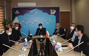 برگزاری مراسم تکریم و معارفه ذیحساب اداره کل آموزش و پرورش  استان زنجان