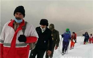 نجات ۴ کوهنورد گمشده در ارتفاعات دریاچه تار دماوند