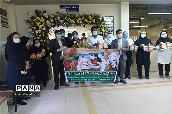 تقدیر نمایندگان مجلس دانشآموزی سیستان و بلوچستان از مدافعان سلامت