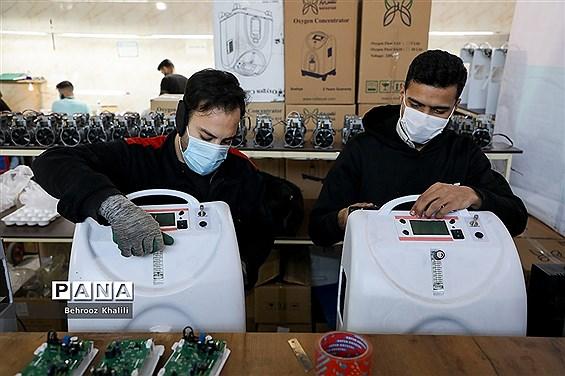 آیین رونمایی برای واگذاری 400 دستگاه اکسیژنساز خانگی  اهدایی بین المللی صلیب سرخ