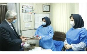قدردانی مدیرکل آموزش و پرورش استان گیلان از پرستاران درمانگاه فرهنگیان رشت