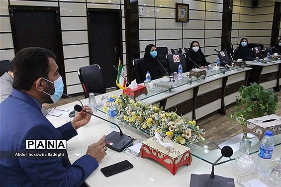 جلسه کمیته آموزشی و توانمندسازی آموزش و پرورش  استان بوشهر