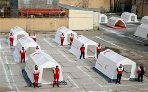 توسعه همکاری با هلالاحمر استانها برای تجهیز خانههای هلال